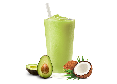 AVOCADO & COCONUT SMOOTHIE