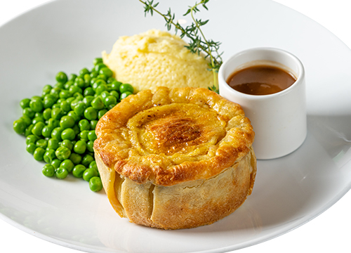 STEAK ALE PIE