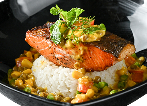 GRILLED SALMON (200G)