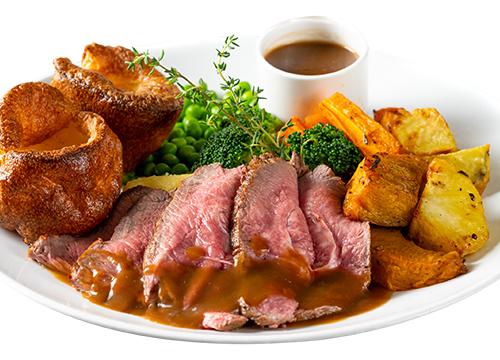ROASTED BEEF DINNER